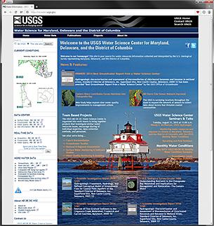 Image of MD.DE.DC WSC public home page